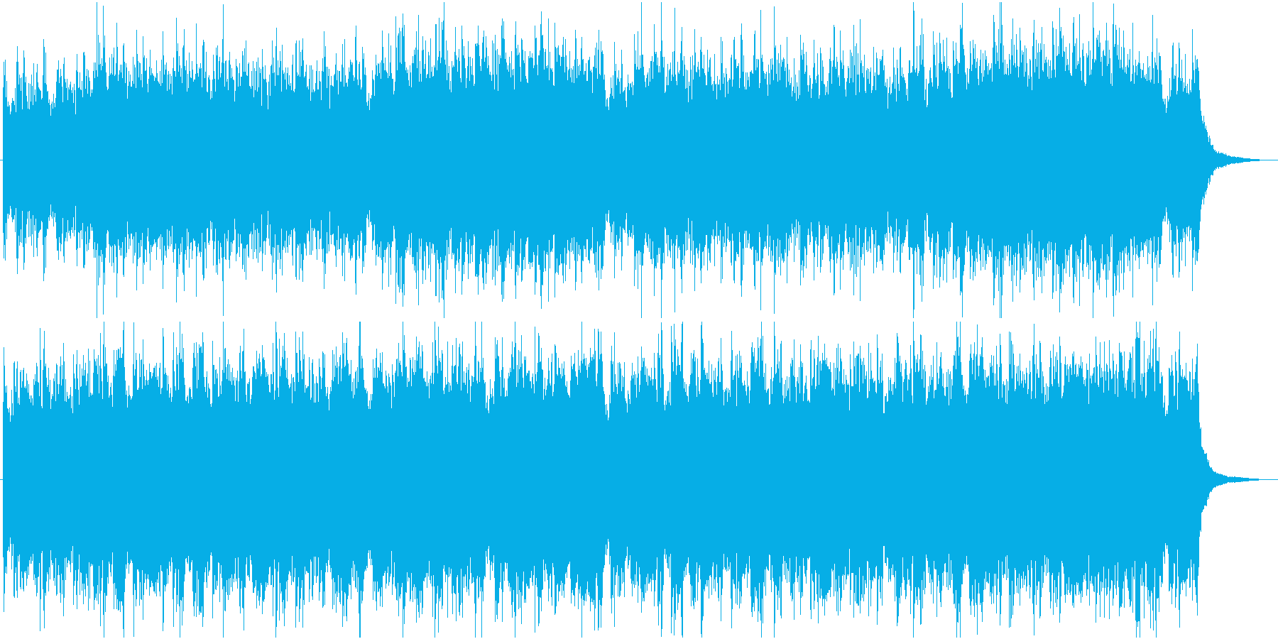 ジャングルっぽい民族調オリジナルの再生済みの波形