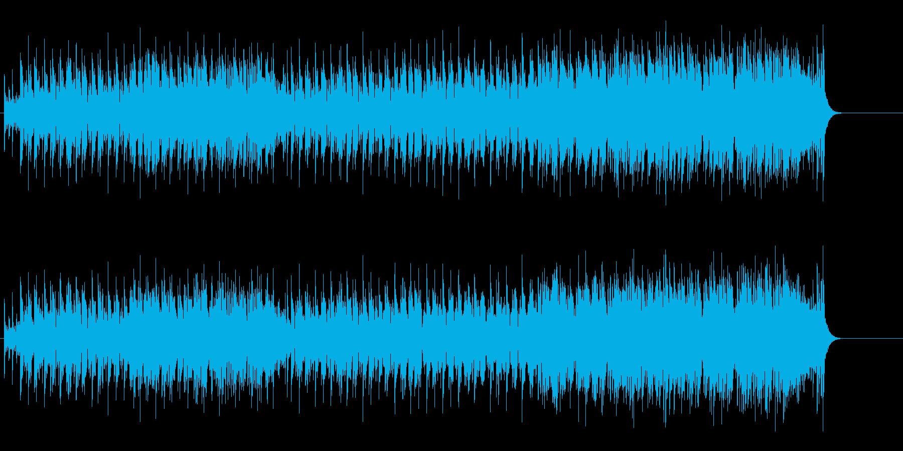 程良いフィーリングを持ったポップ・ロックの再生済みの波形