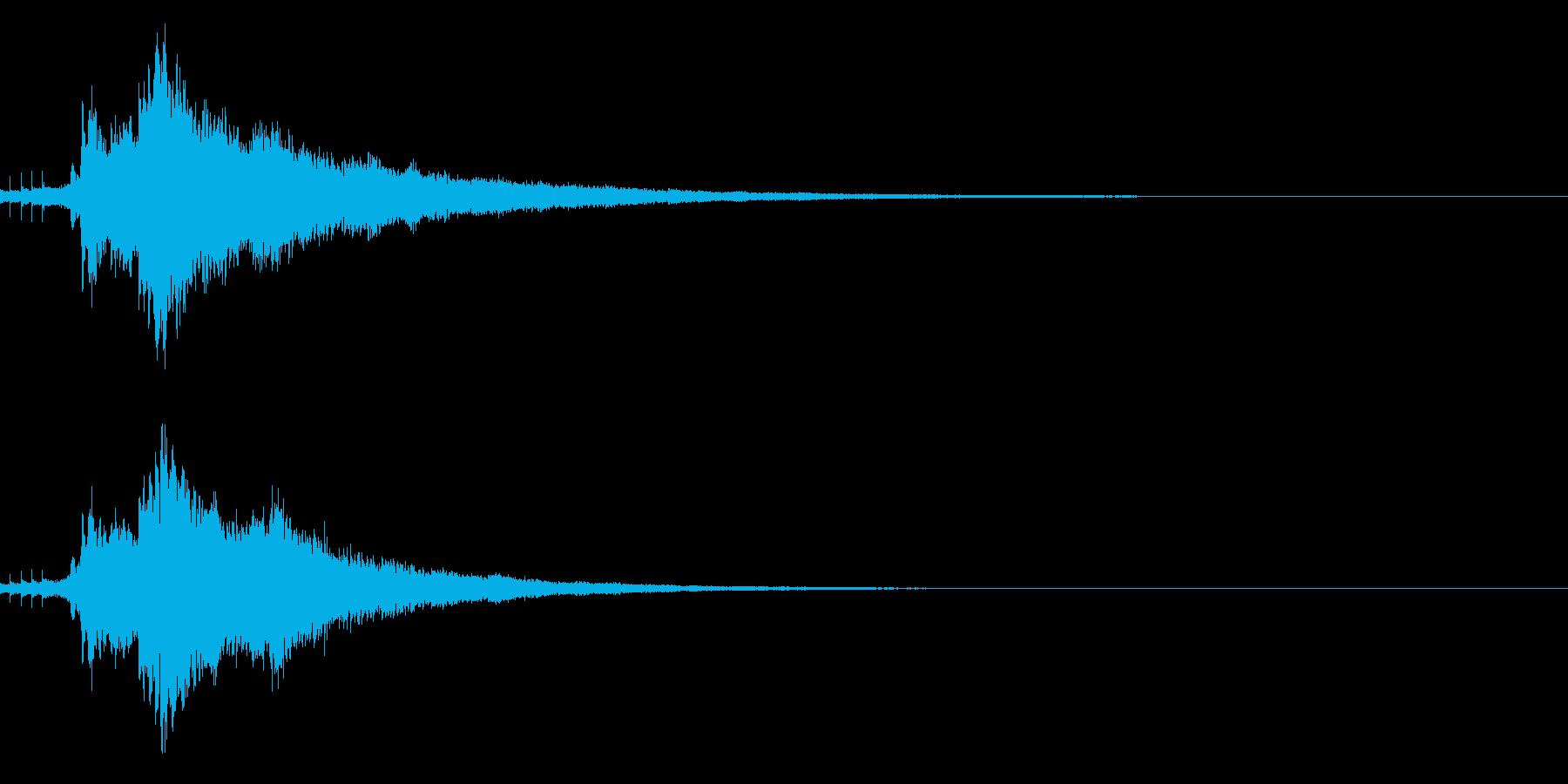 キラキラ☆光や天使に最適な効果音!31の再生済みの波形