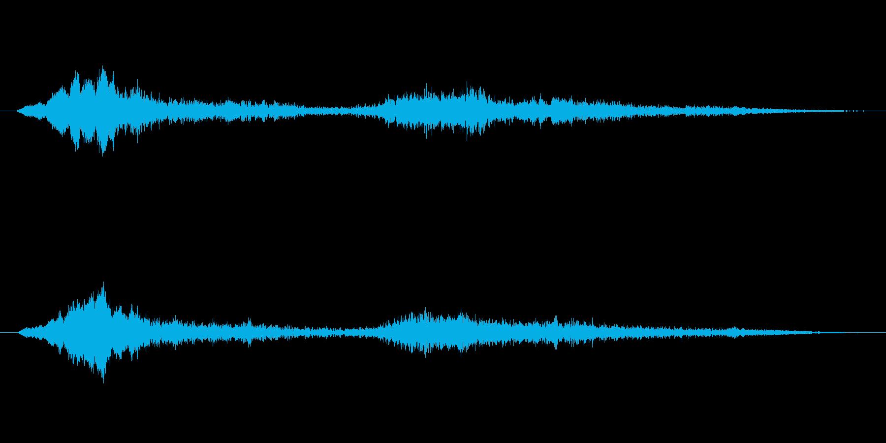ヒューワーン ヒューワーンの再生済みの波形