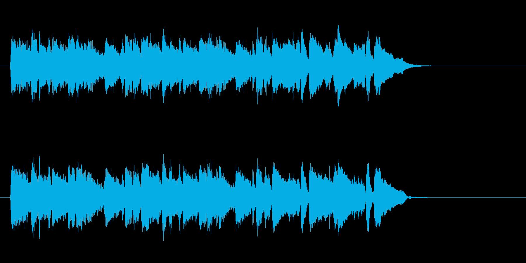 安心感ある暖かいバラード(イントロ)の再生済みの波形
