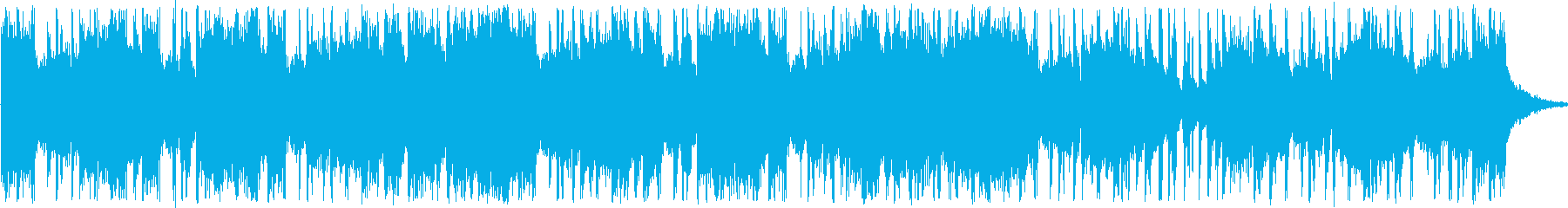happyなショートBGMの再生済みの波形