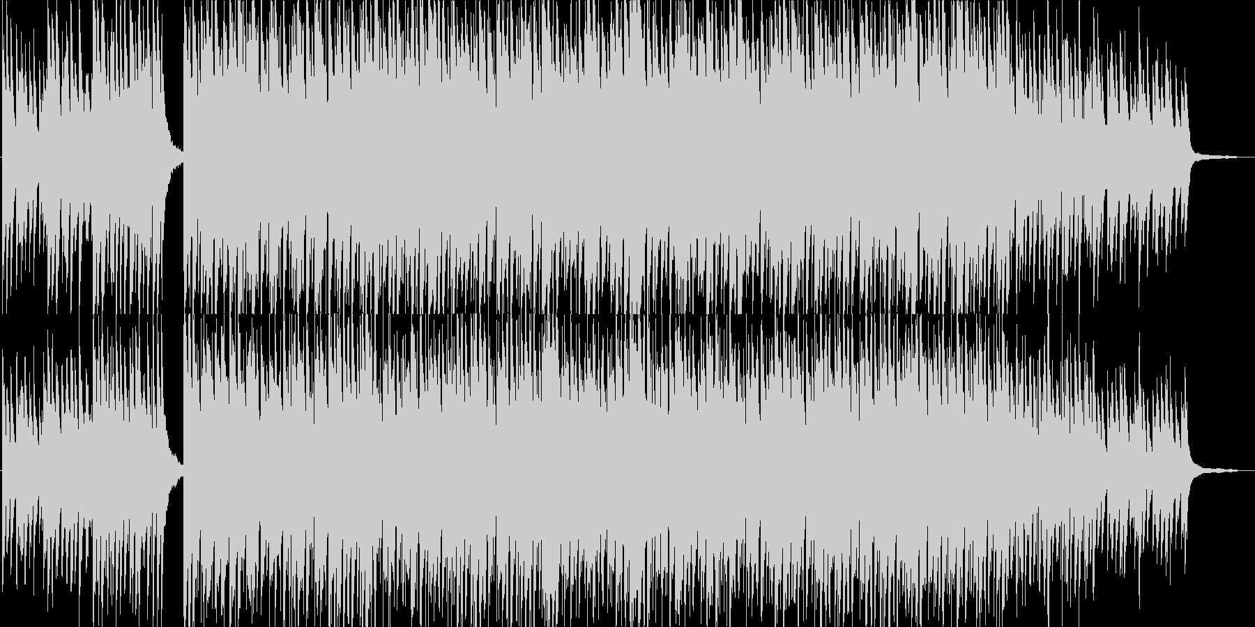 爽やか・ピアノ・映像・ナレーション用の未再生の波形