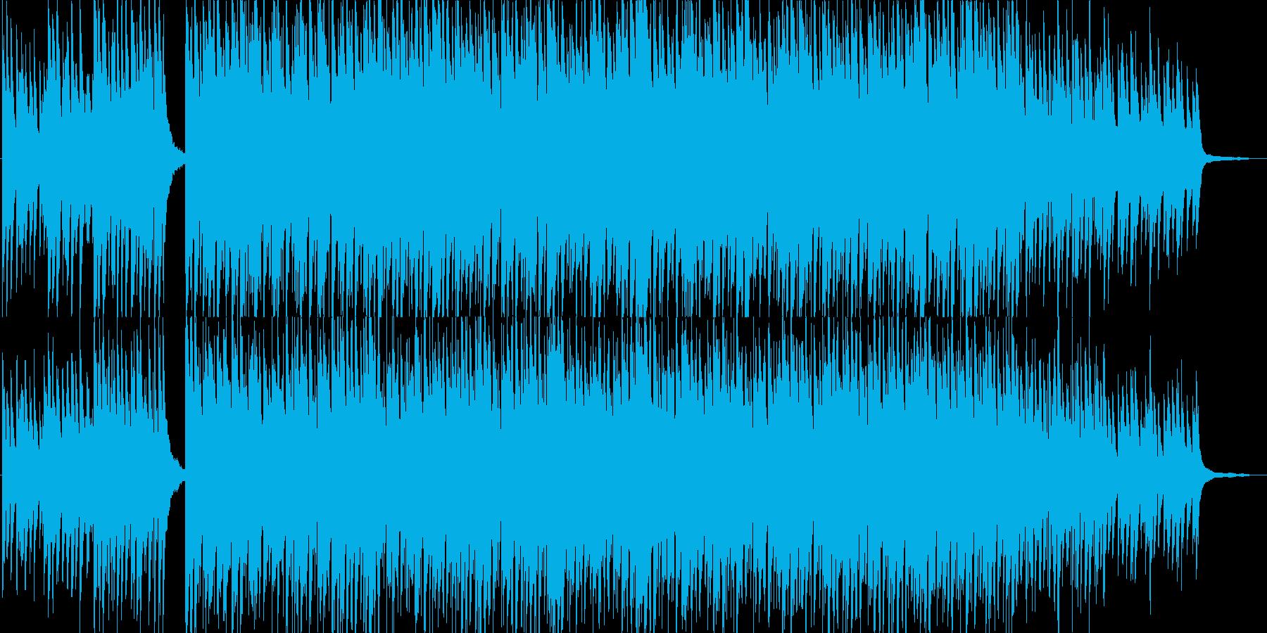 爽やか・ピアノ・映像・ナレーション用の再生済みの波形