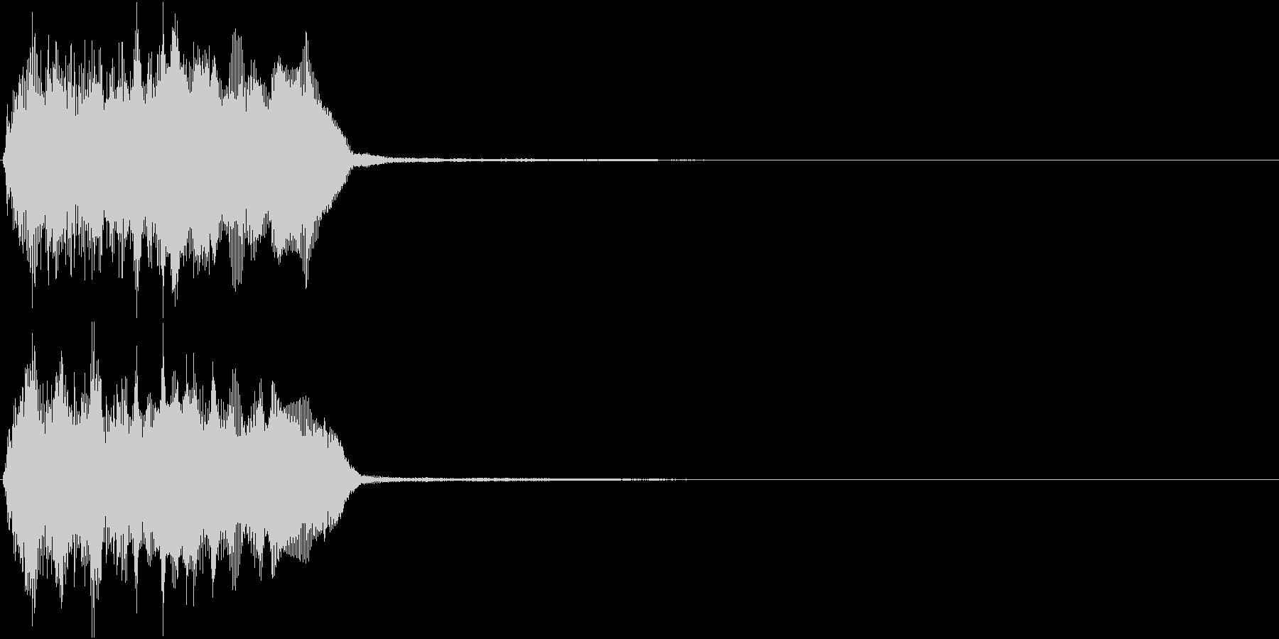 トランペット ファンファーレ 定番 20の未再生の波形