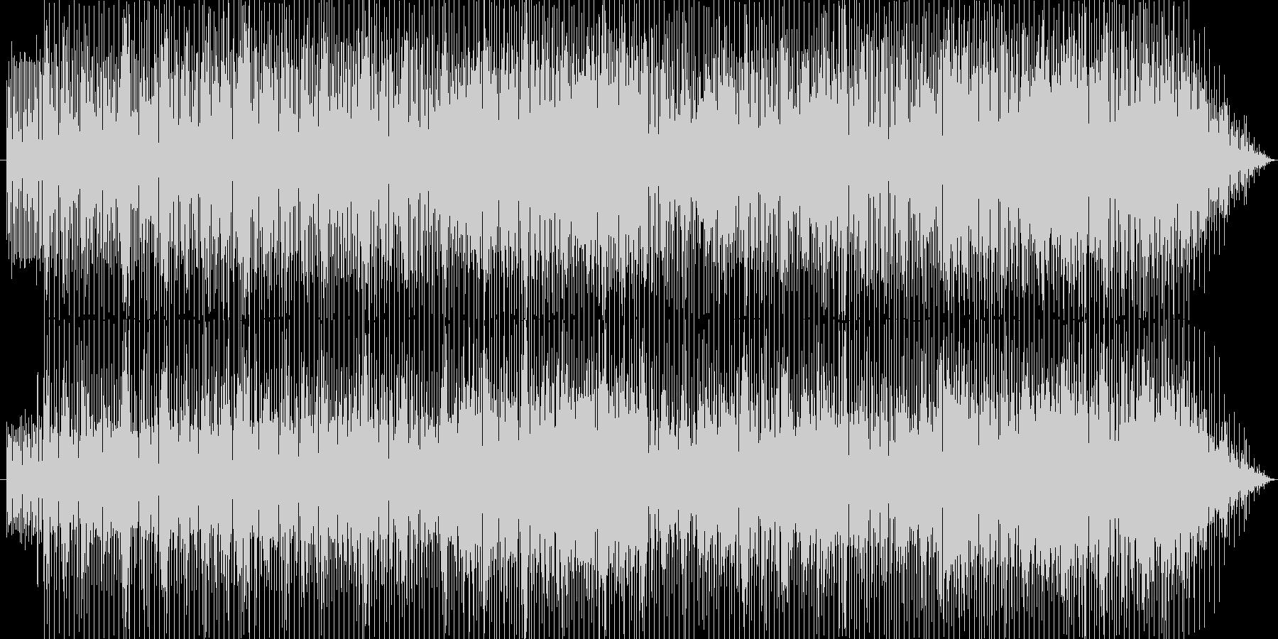 ピアノによるスムースジャズの未再生の波形