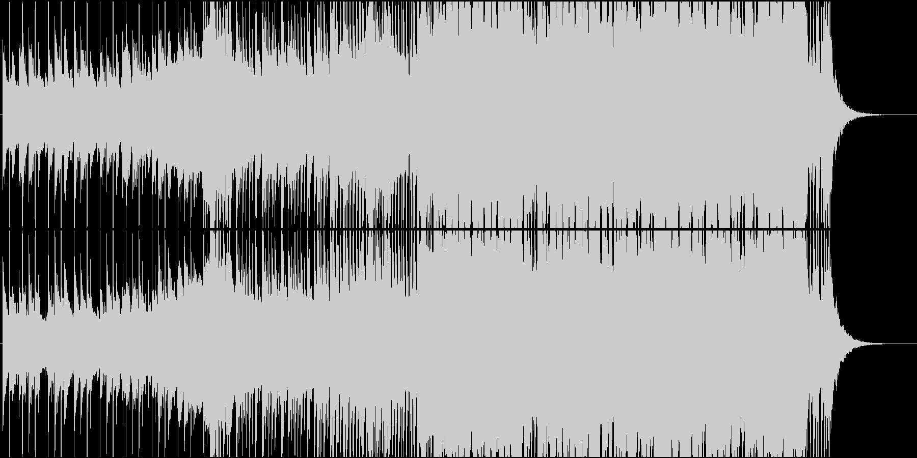 EDMスタイルのトロピカルハウスの未再生の波形