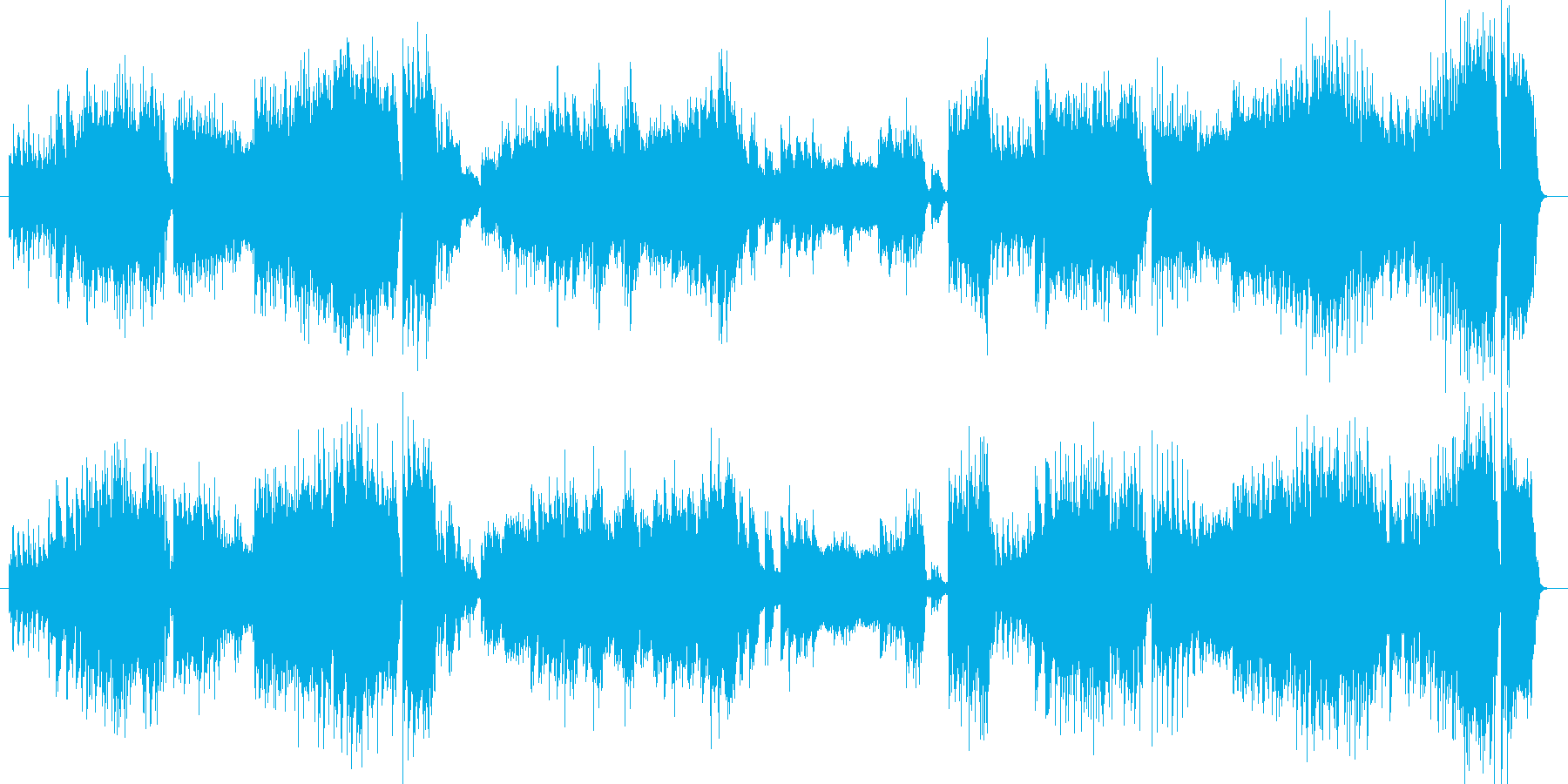 小組曲より第四楽章バレエの再生済みの波形