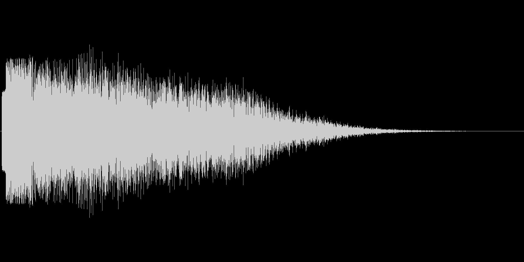 ガキーーーン02の未再生の波形