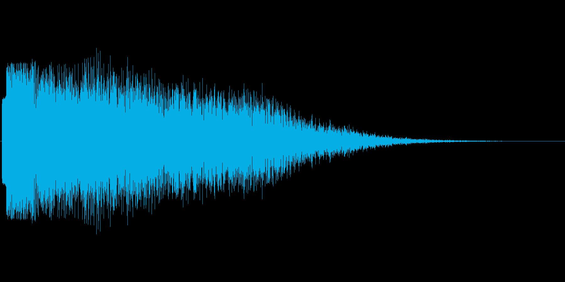 ガキーーーン02の再生済みの波形