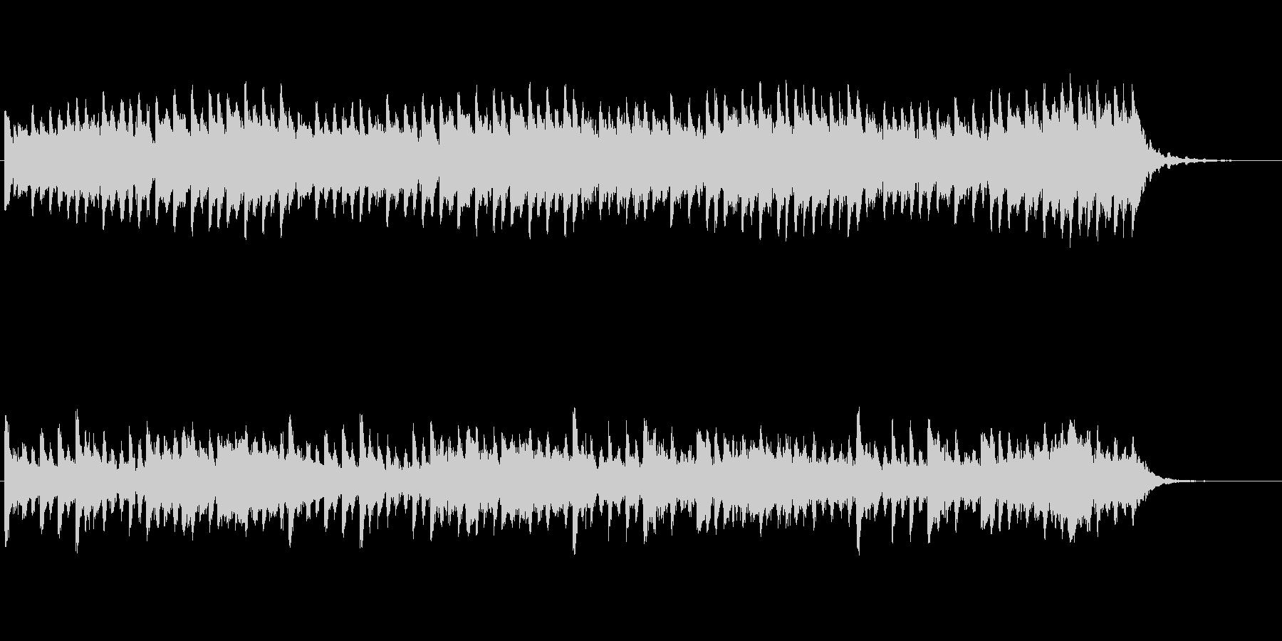 【ピアノ バラード】ミステリアスなピアノの未再生の波形