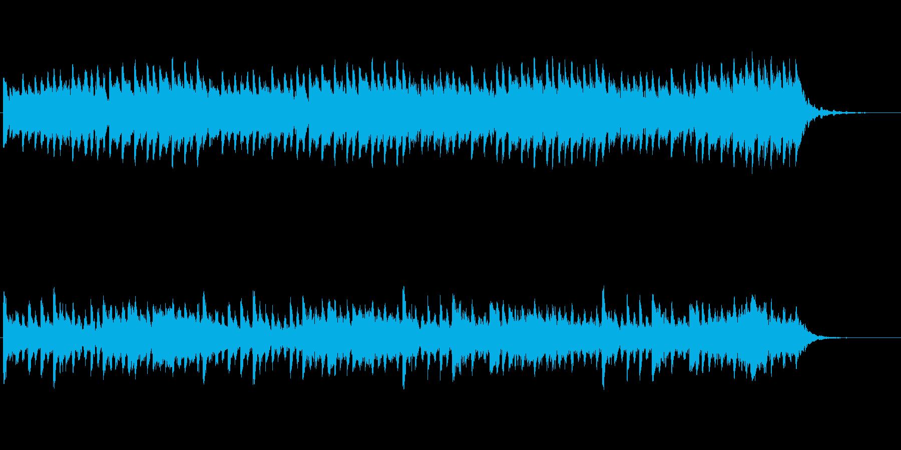【ピアノ バラード】ミステリアスなピアノの再生済みの波形