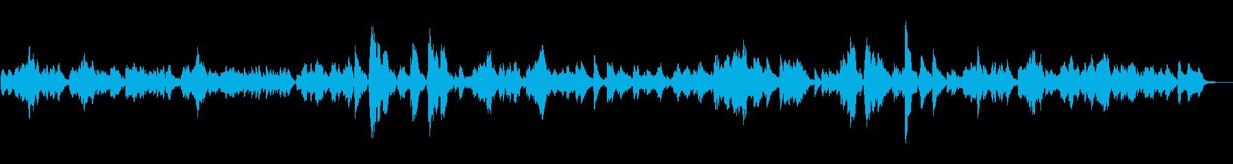 シシリエンヌ/フォーレ (フルート)の再生済みの波形