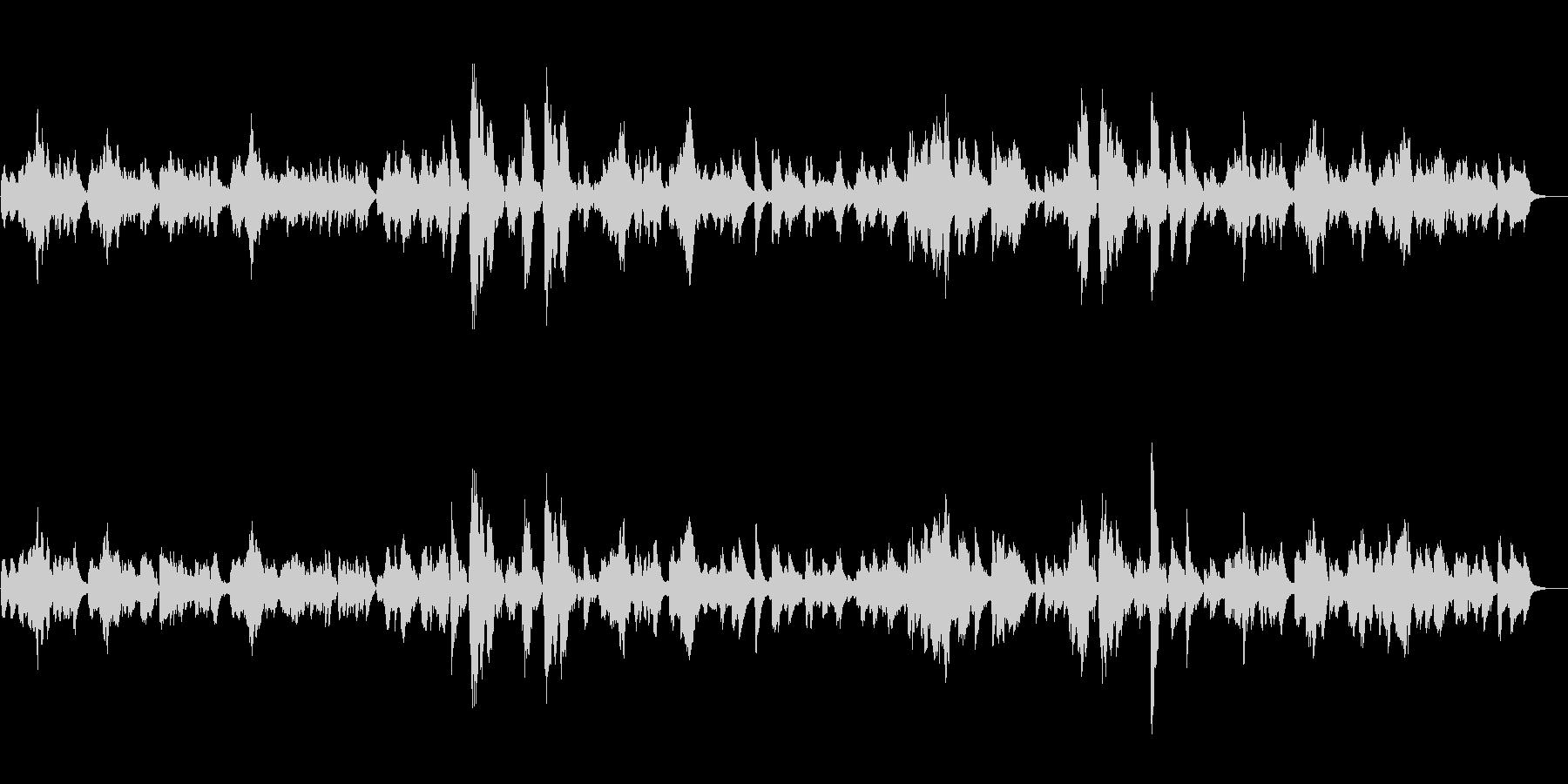シシリエンヌ/フォーレ (フルート)の未再生の波形