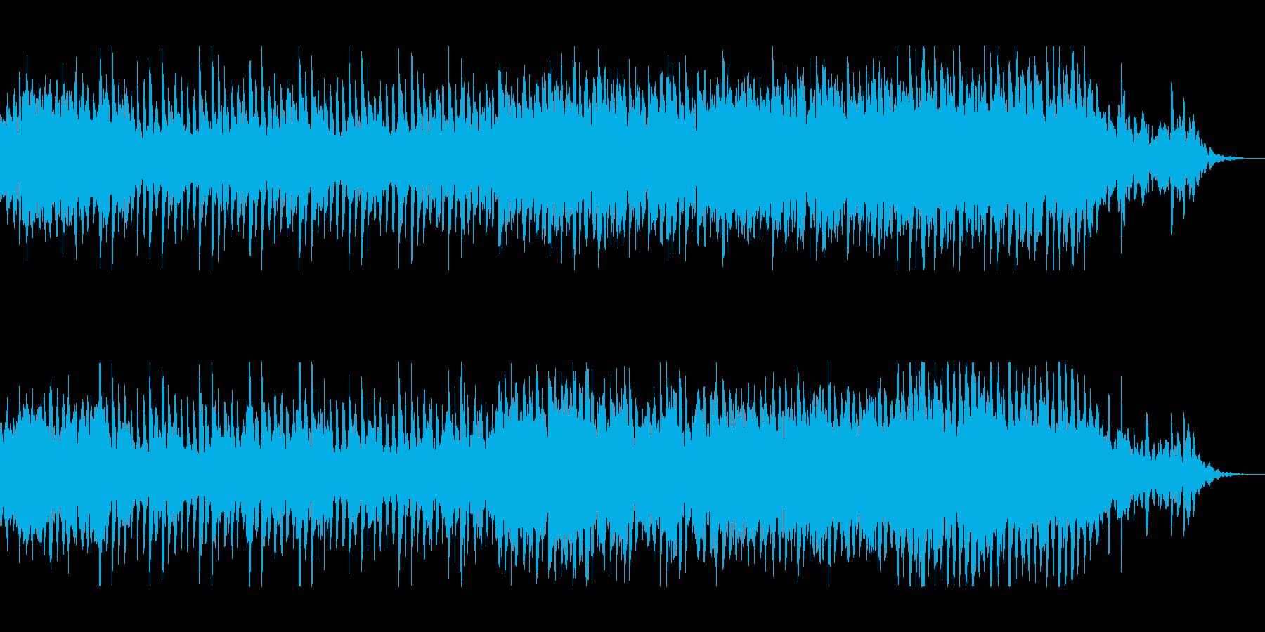 浮遊感漂う心地良い電子音。ハウス、テクノの再生済みの波形