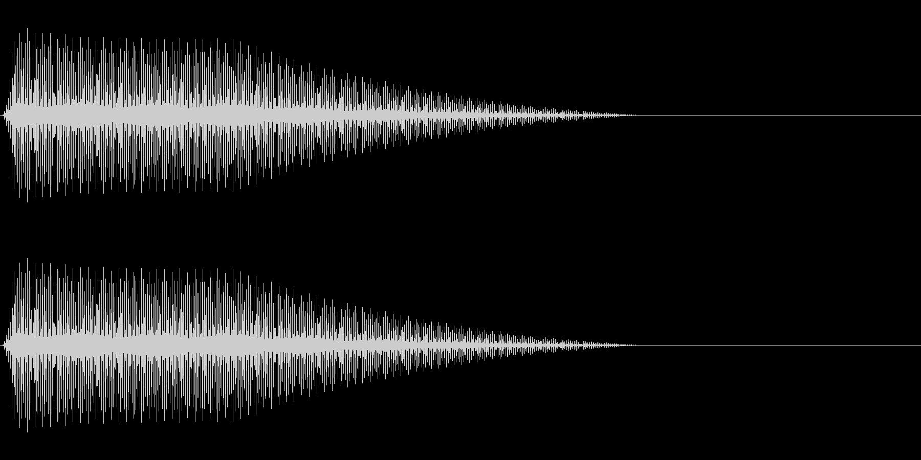 OctaveCom アプリ用タッチ音7の未再生の波形