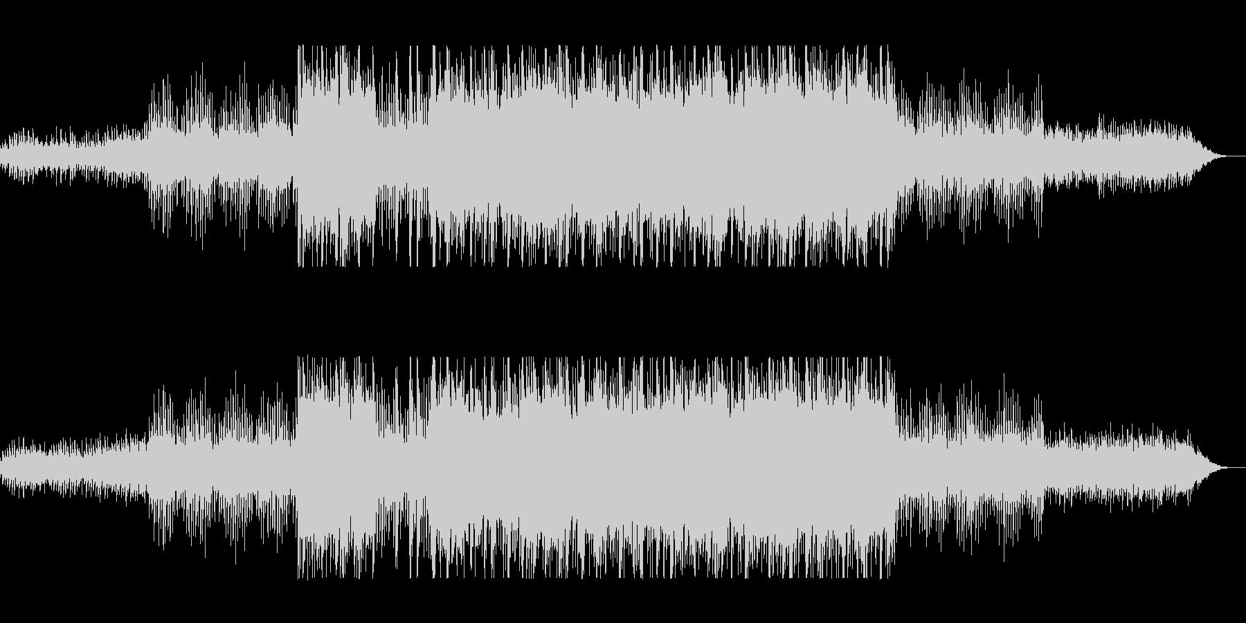 浮遊感なシーケンサーのテクノポップの未再生の波形