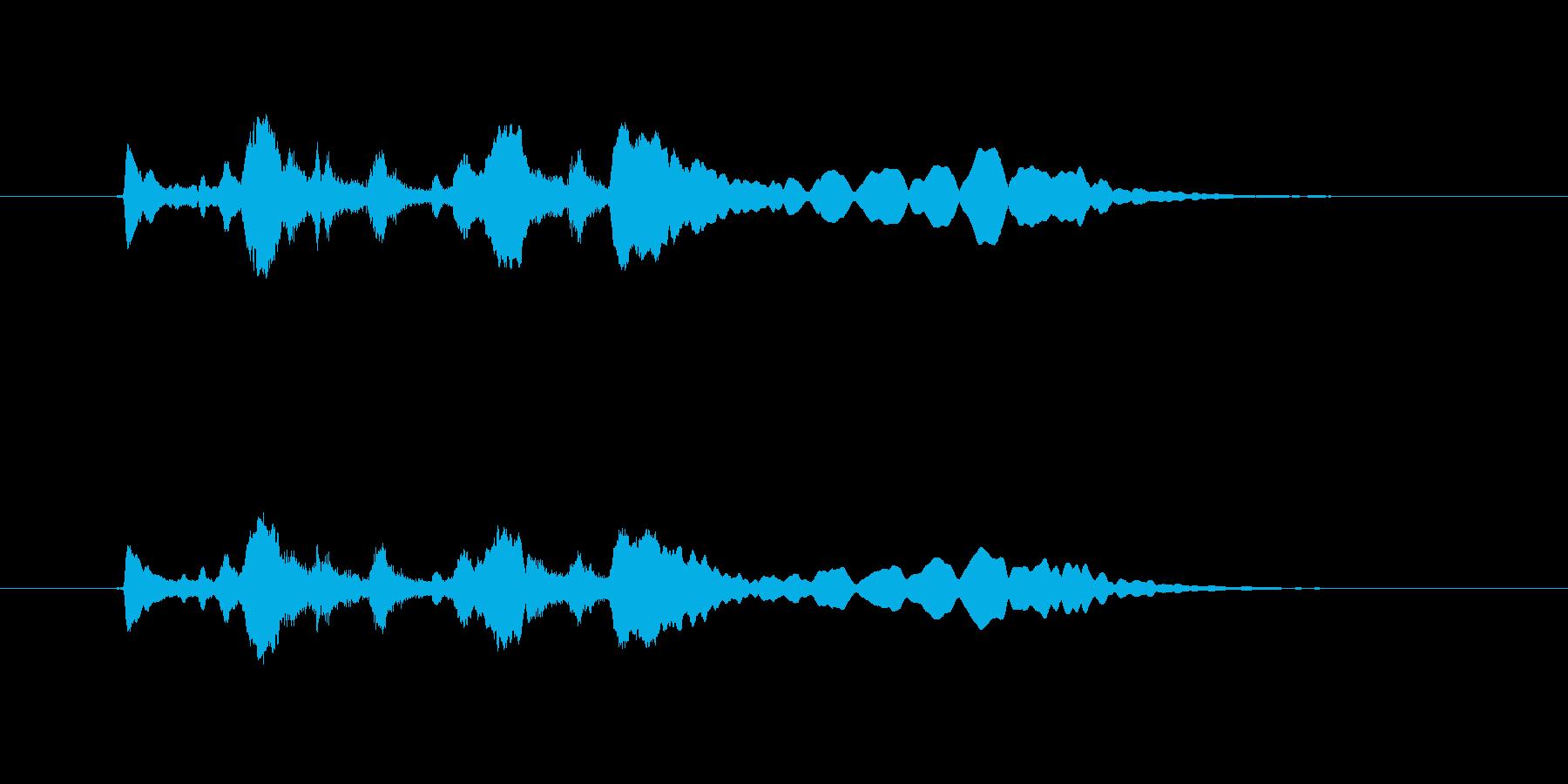 トランペット ぱっぱらぱーの再生済みの波形