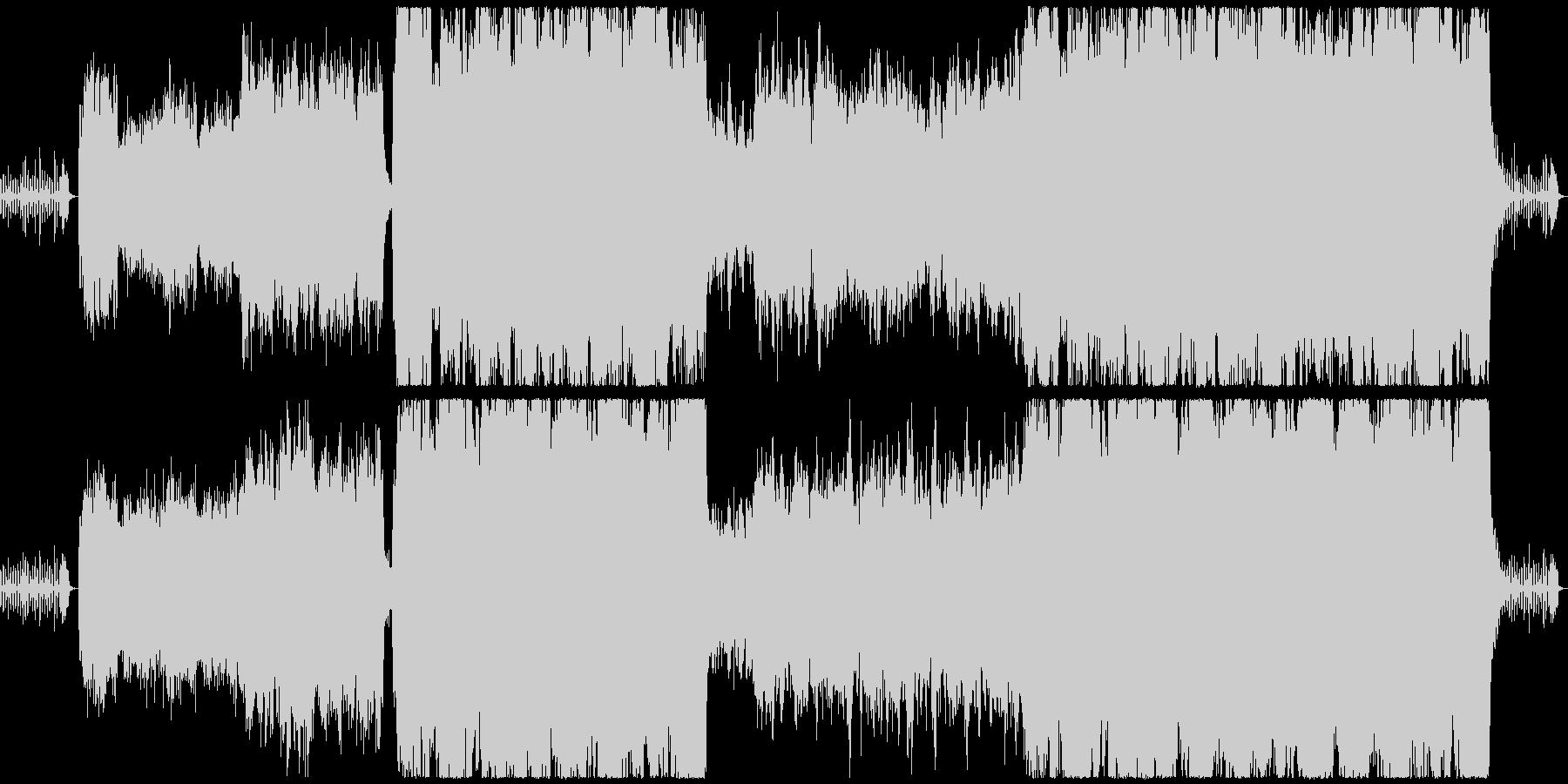 【ダークな雰囲気のクラシック】の未再生の波形