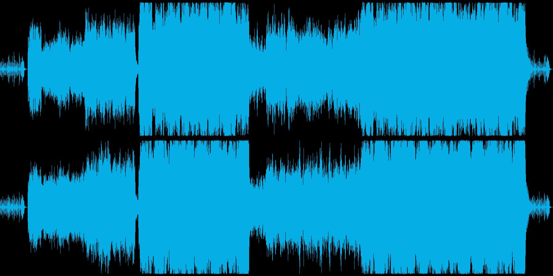 【ダークな雰囲気のクラシック】の再生済みの波形