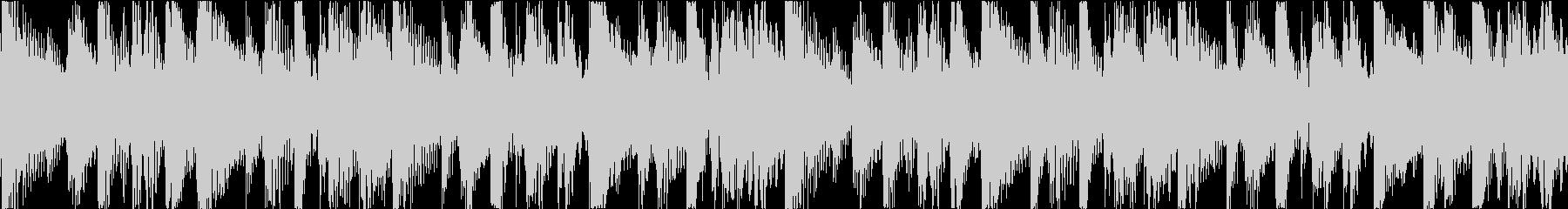 BGM08 アフリカン 8秒ループの未再生の波形