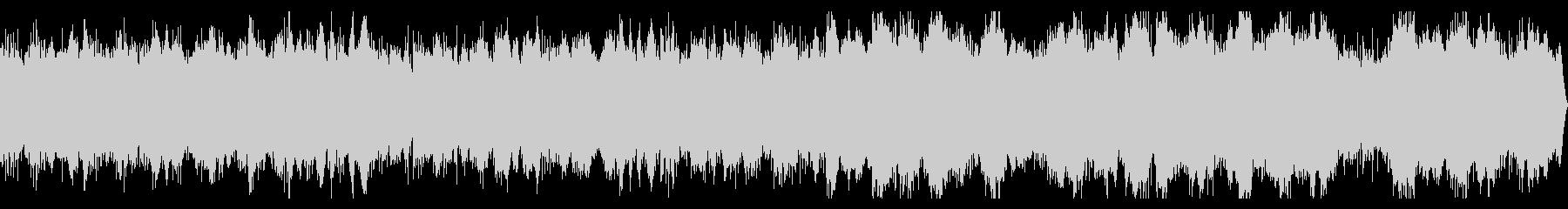 アルペジオが特徴的なアンビエントの未再生の波形