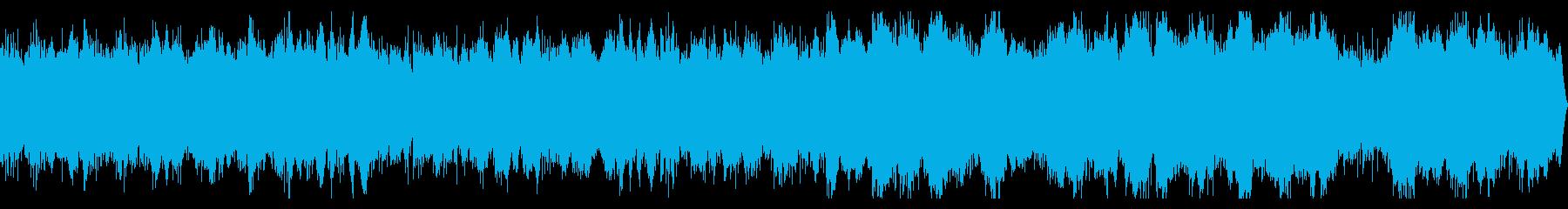 アルペジオが特徴的なアンビエントの再生済みの波形