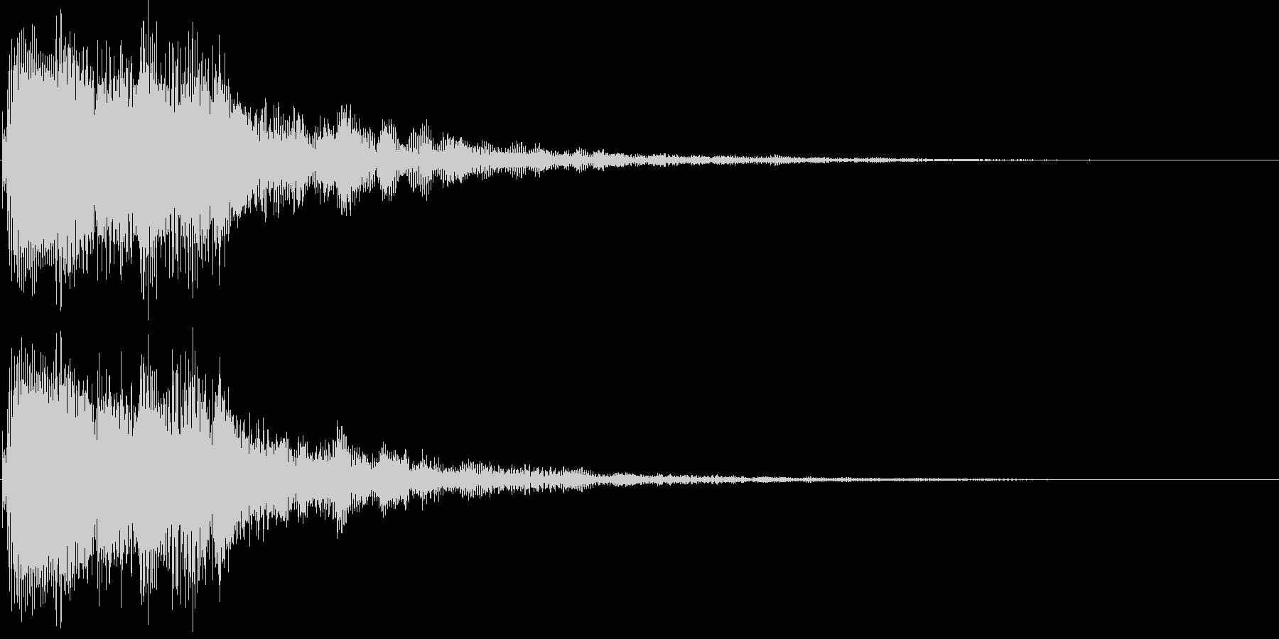 ジャララン(決定、レベルアップ、完了)の未再生の波形
