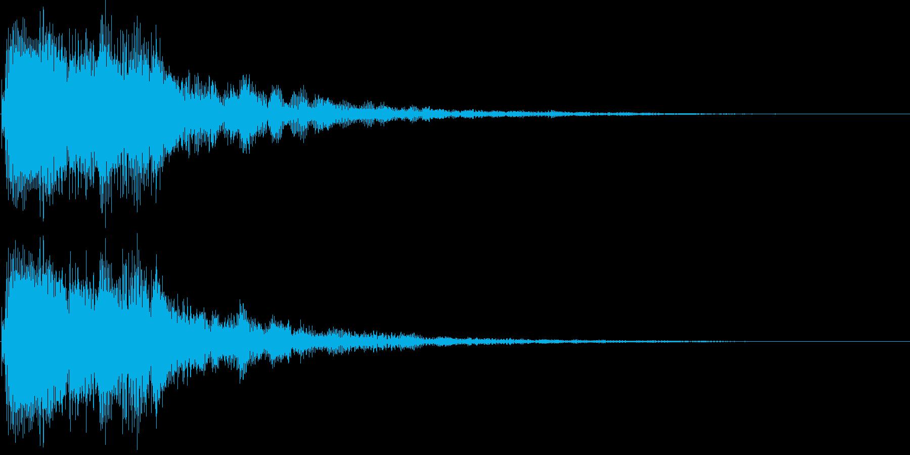 ジャララン(決定、レベルアップ、完了)の再生済みの波形