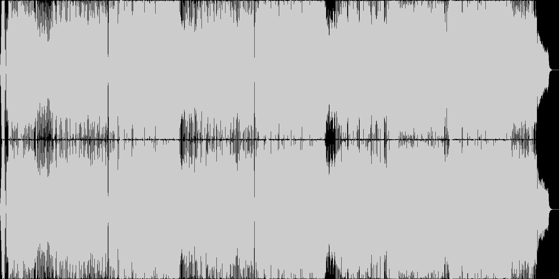 アニメ主題歌風の明るいロック_女性Voの未再生の波形