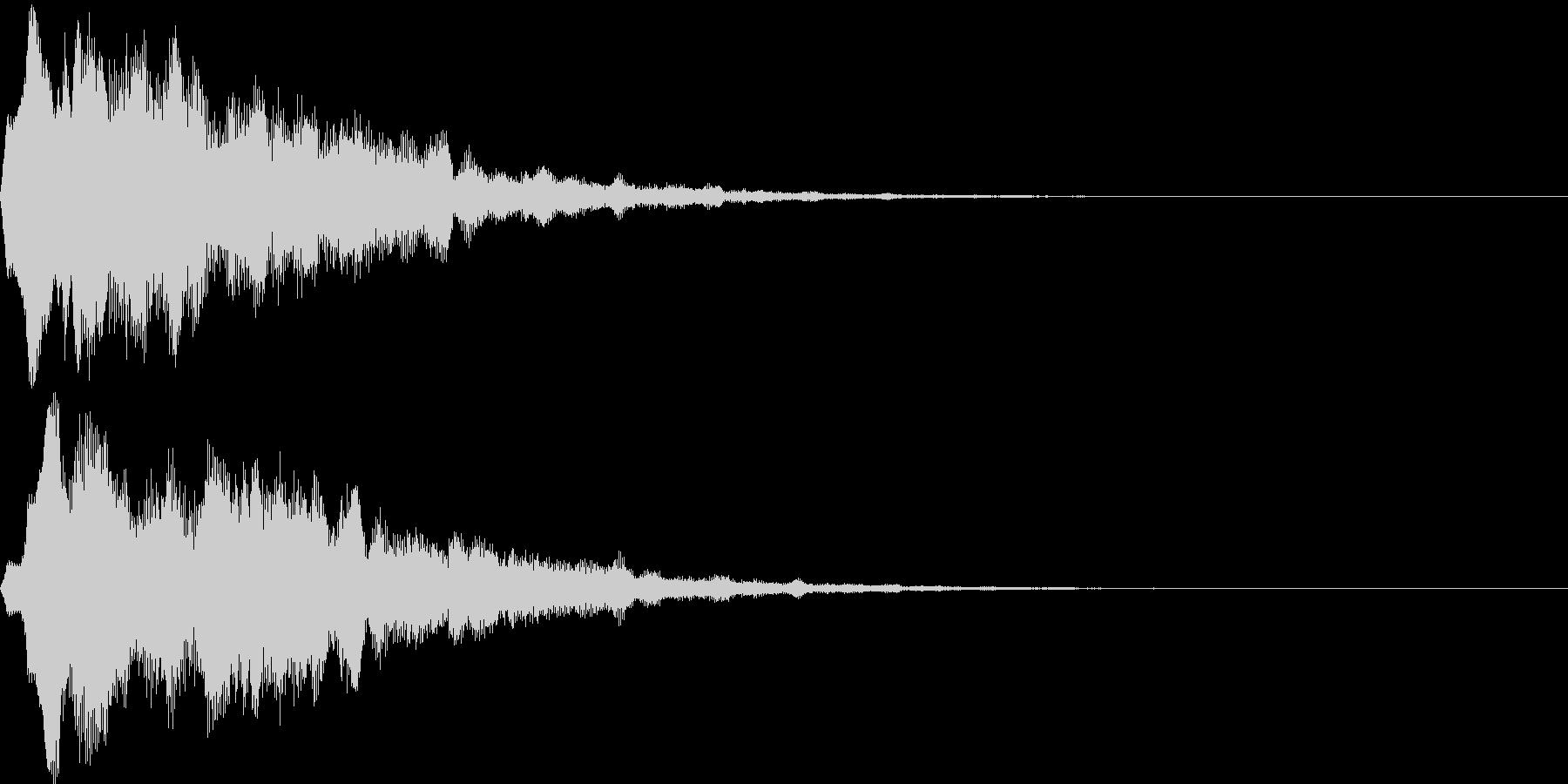 サウンドロゴ15(シンセ系)の未再生の波形