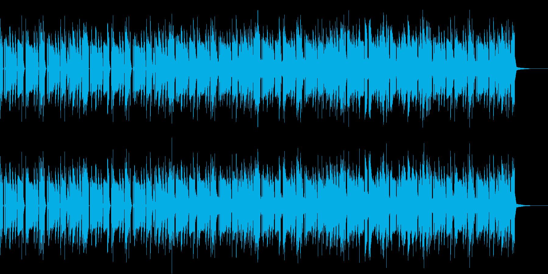 ゲーム(RPG・ミステリーノベルメニュ)の再生済みの波形
