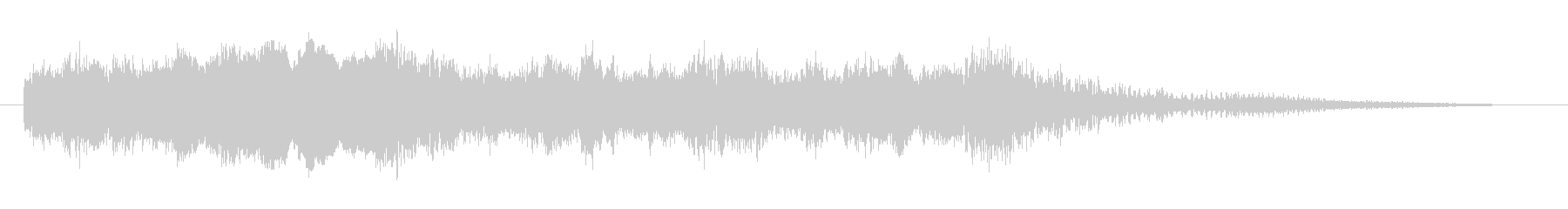 コーナータイトル_ターミネーター風の未再生の波形
