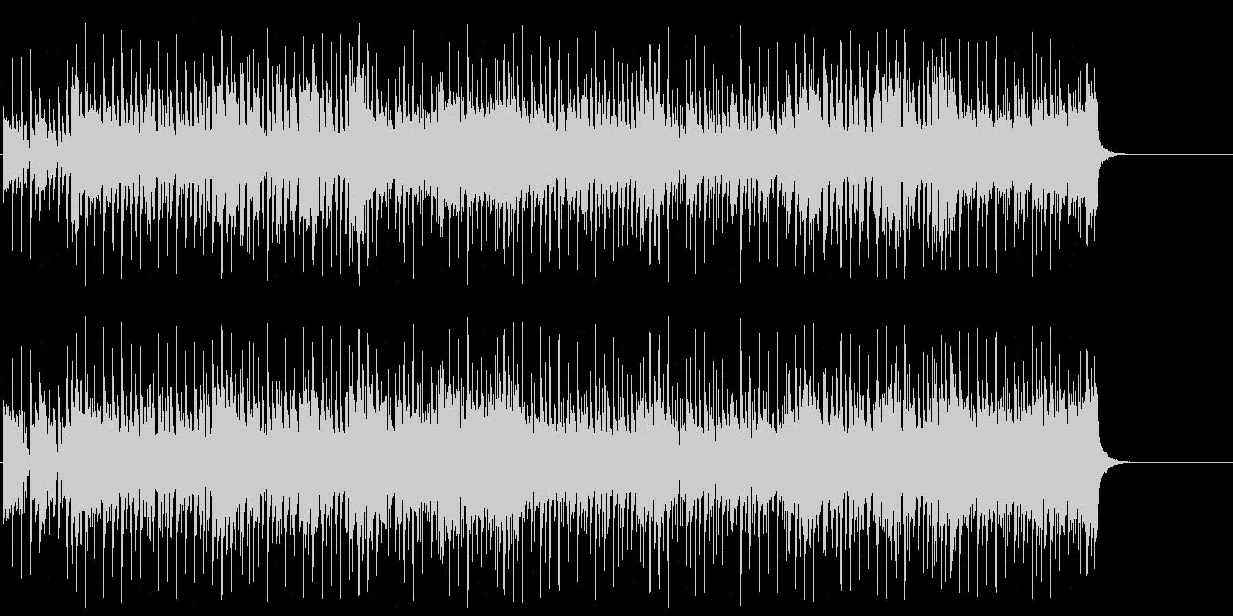 ファンキーで勢いのあるポップ/テクノ/の未再生の波形