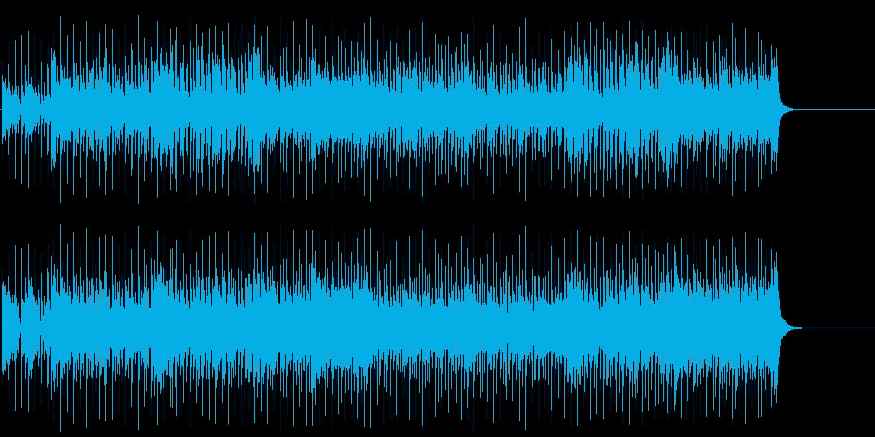 ファンキーで勢いのあるポップ/テクノ/の再生済みの波形