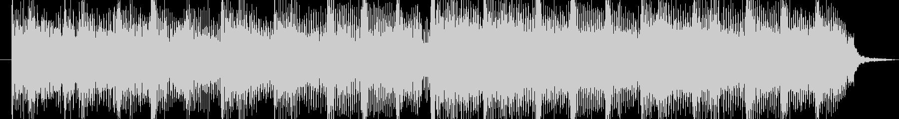 インパクトのあるハードロックジングルの未再生の波形