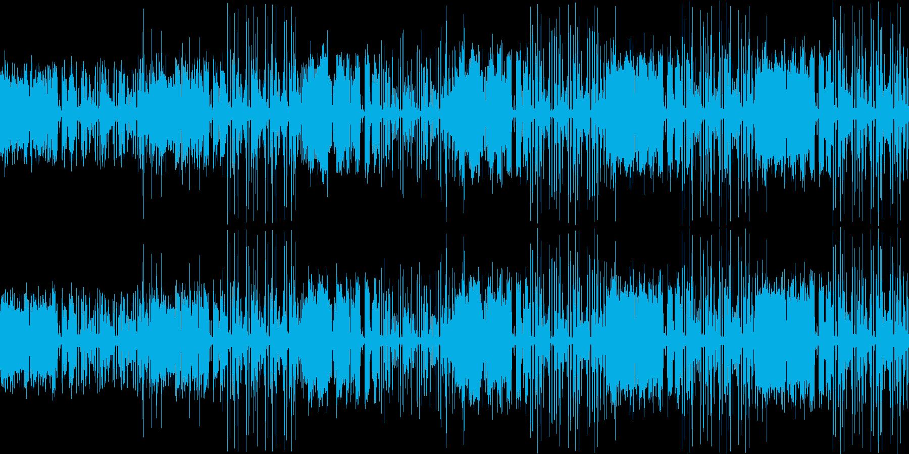 【ケルト・ファンタジー感溢れるポップス】の再生済みの波形