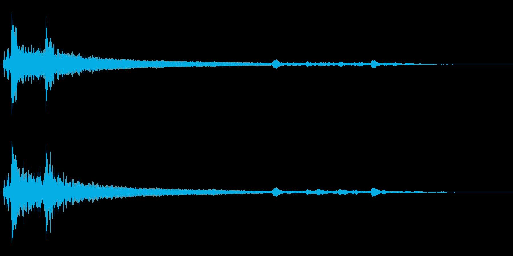クリック音2からくり小箱 ファンタジー系の再生済みの波形