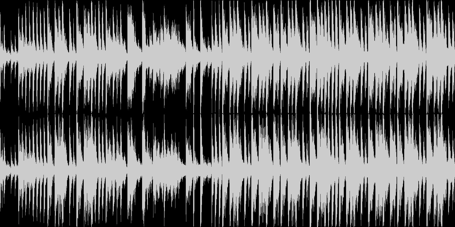【15秒】ファンキーなブレイクビーツの未再生の波形