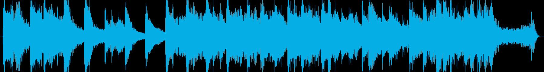 高音質♪和風出囃子ジングルヨーロッパ風の再生済みの波形