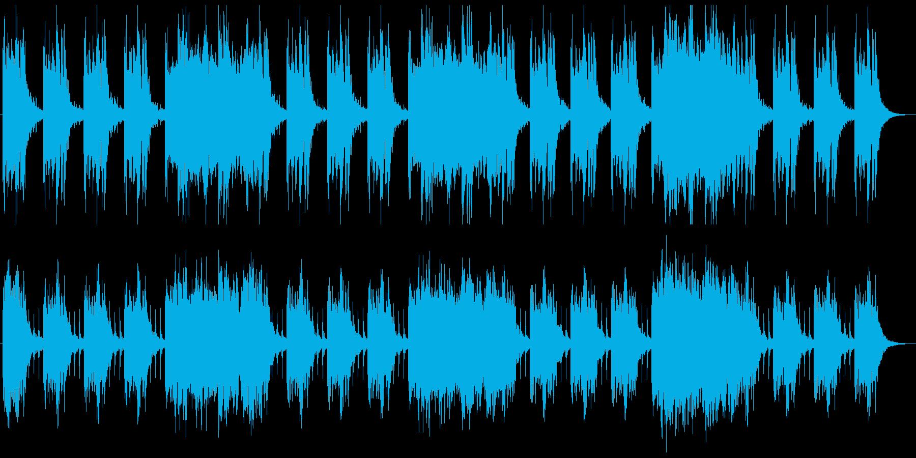 シネマチックな闇をイメージ 1分半BGMの再生済みの波形