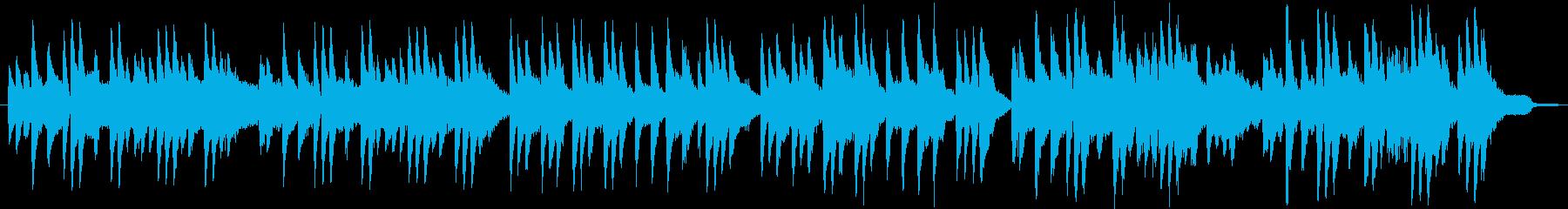 ギターとピアノのクラシカル美メロインストの再生済みの波形