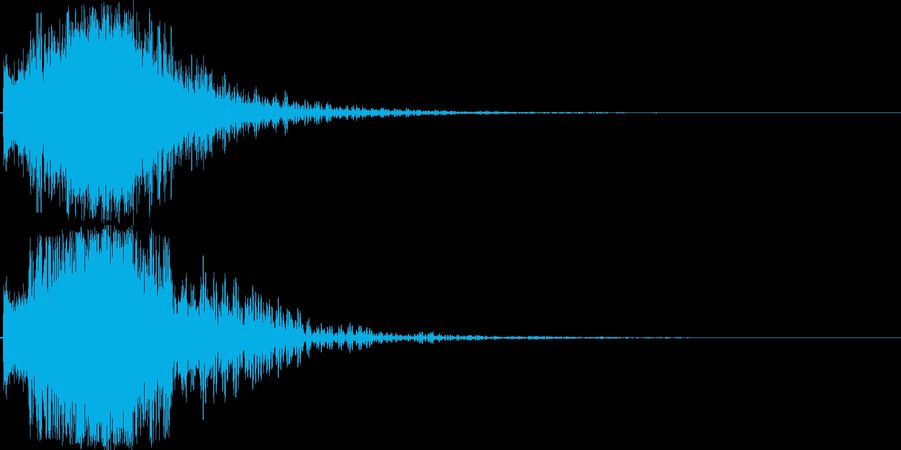 シャキーン(特大剣 ロゴ インパクト)5の再生済みの波形