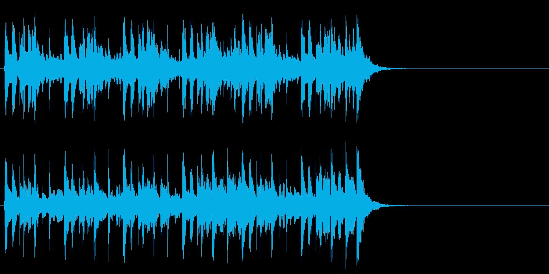 クルーズする優雅なポップ(イントロ)の再生済みの波形