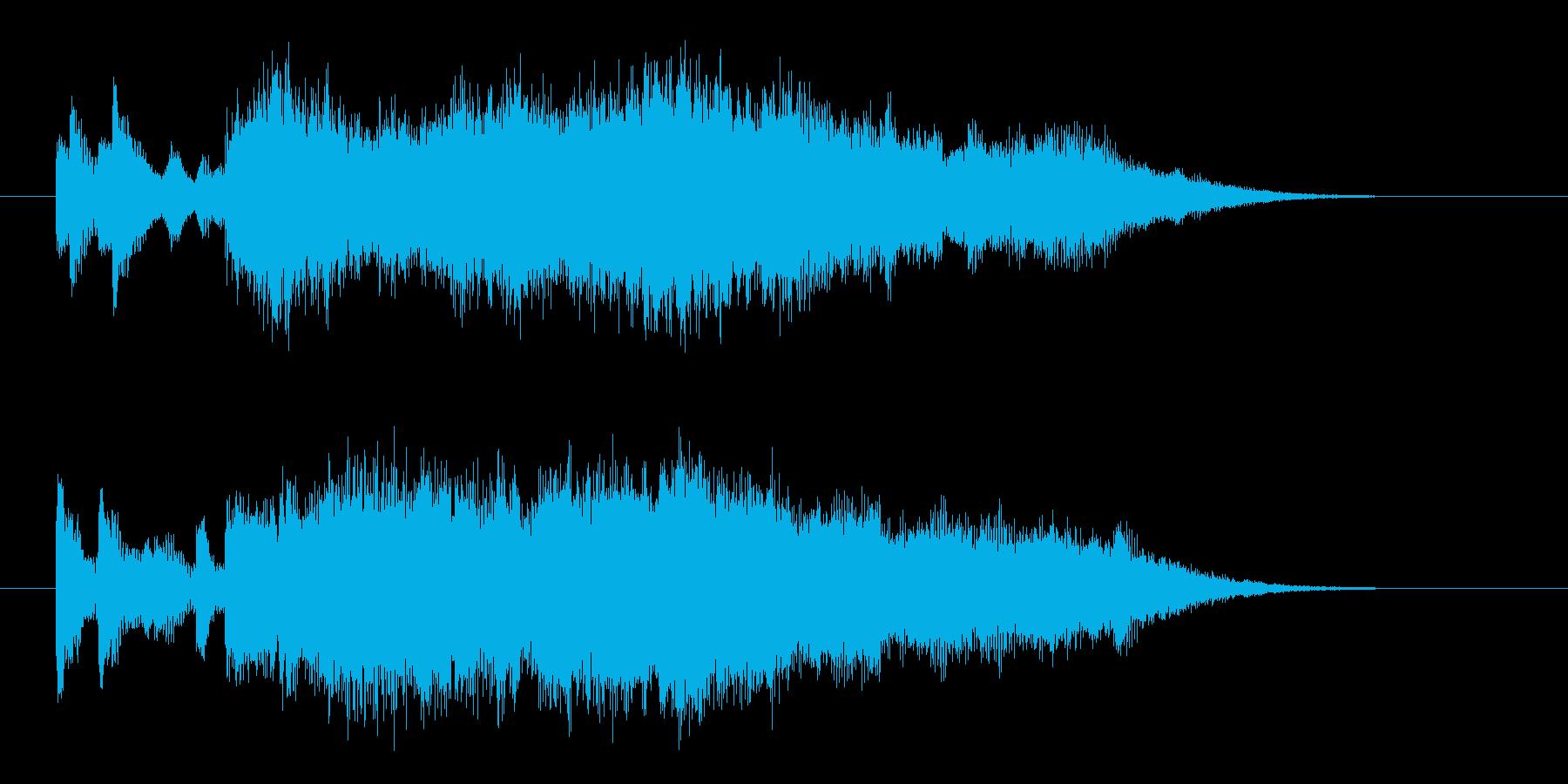サウンドロゴ【宇宙】ハヤブサ 光ジングルの再生済みの波形