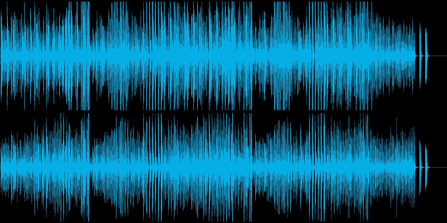 ピアノ名曲トルコ行進曲 意外とかわいい曲の再生済みの波形