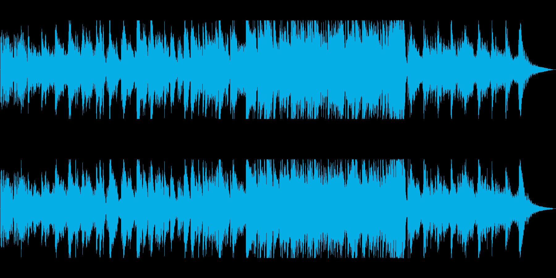 リラックスムード漂う優しいジャズの再生済みの波形