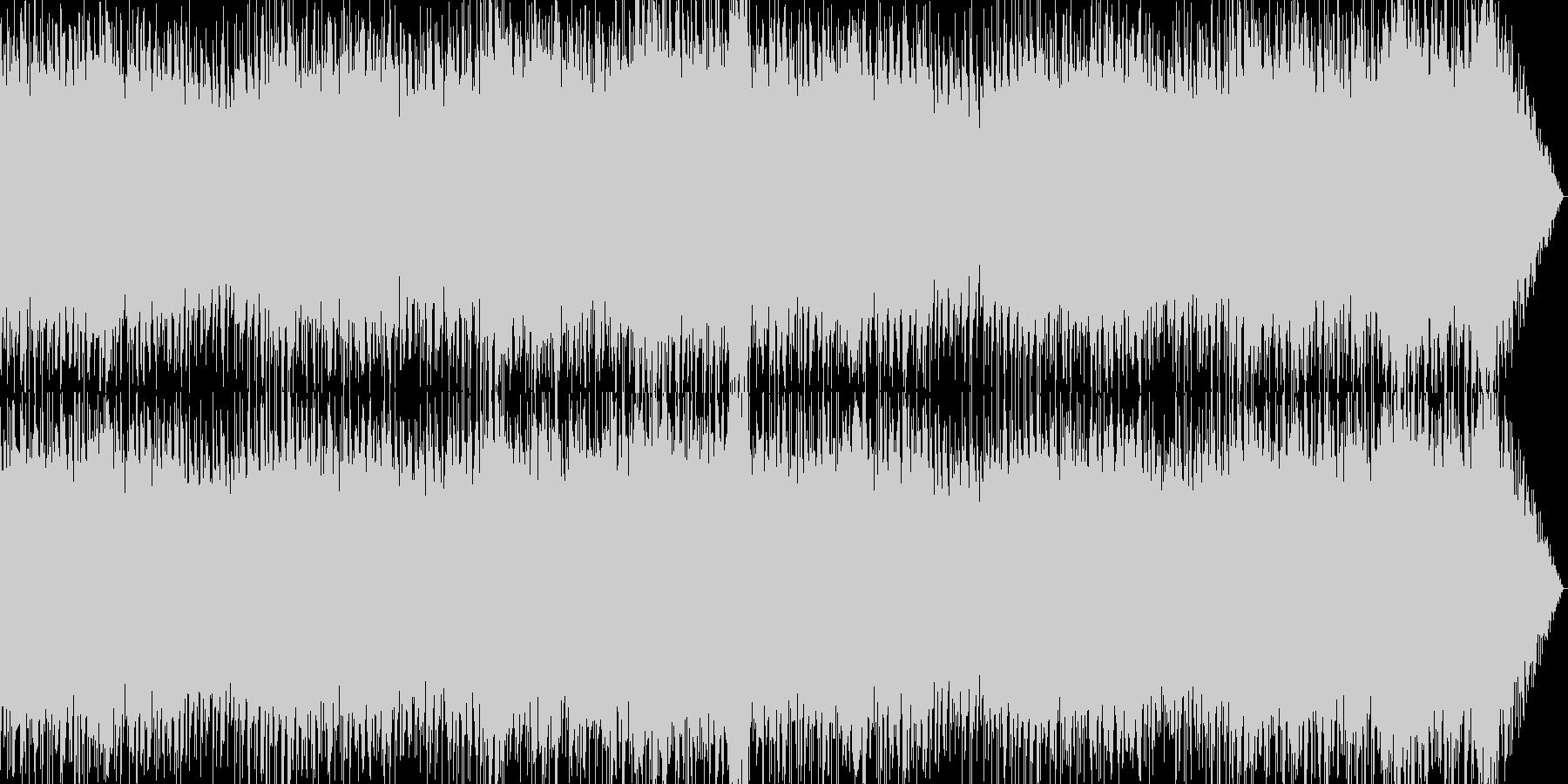 軽快ポップなゲームBGM系インストの未再生の波形