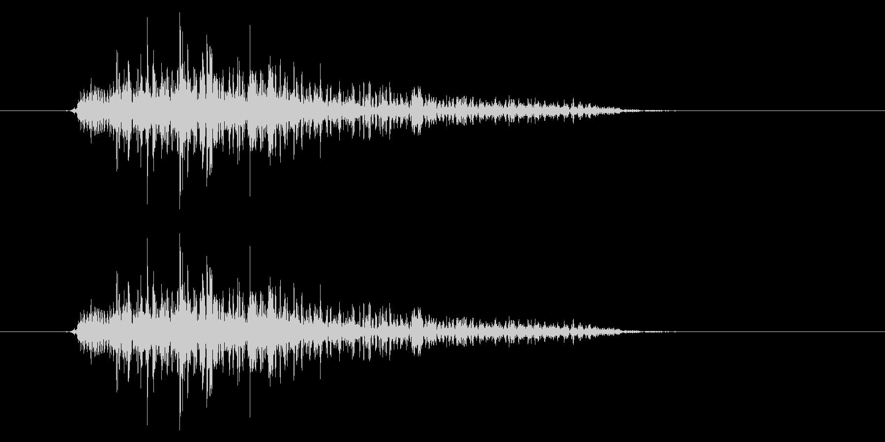 ガオー (猛獣・モンスターの鳴き声)の未再生の波形