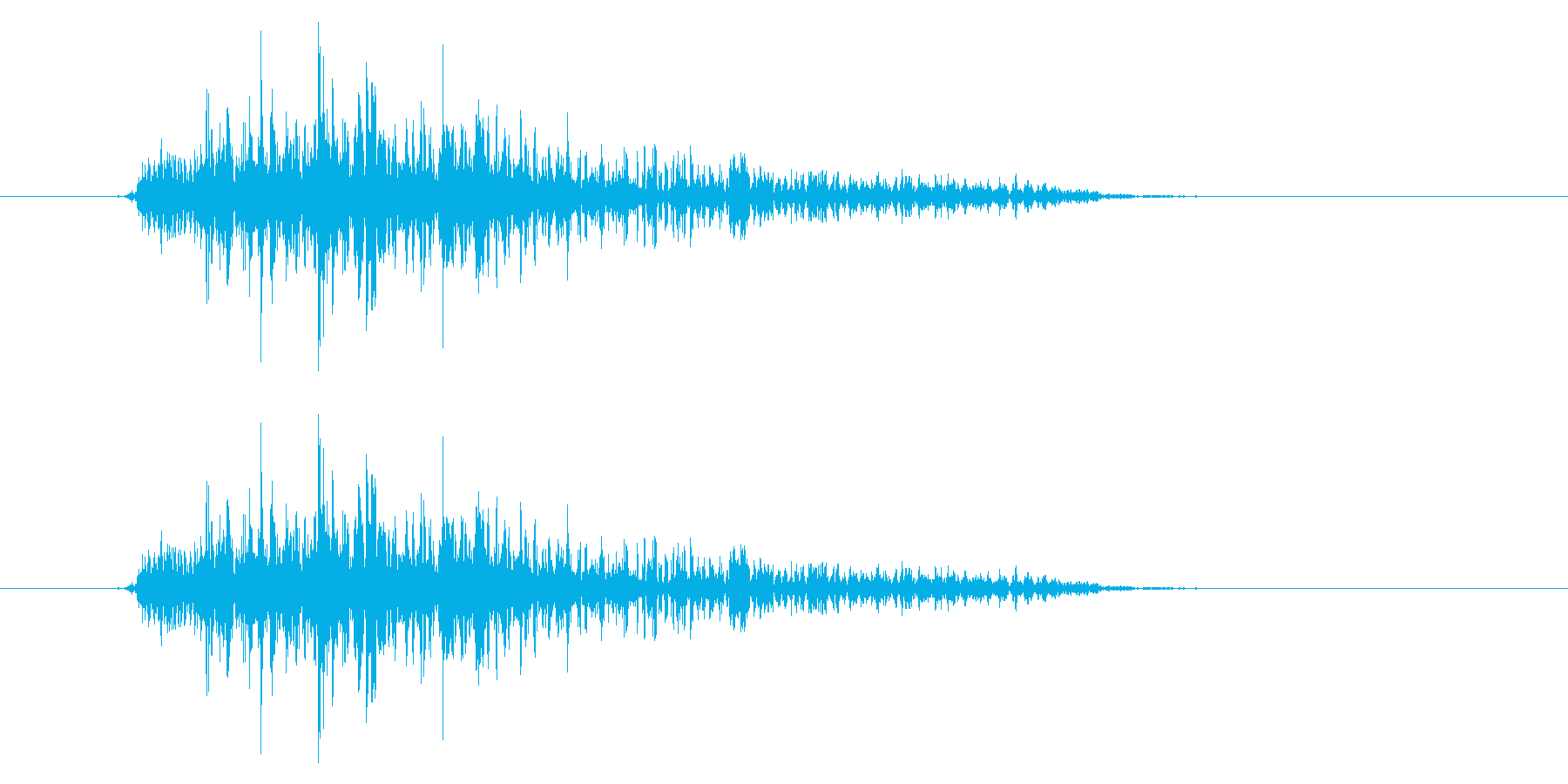 ガオー (猛獣・モンスターの鳴き声)の再生済みの波形